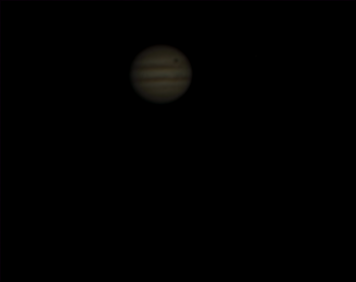 Jupiter et Io en transit