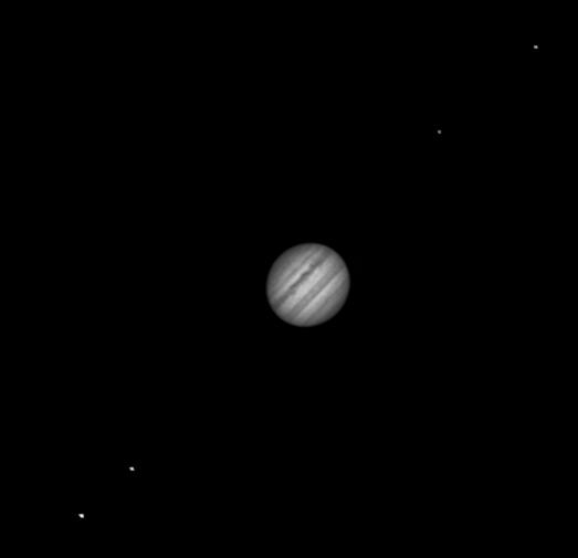 Jupiter et Satellites