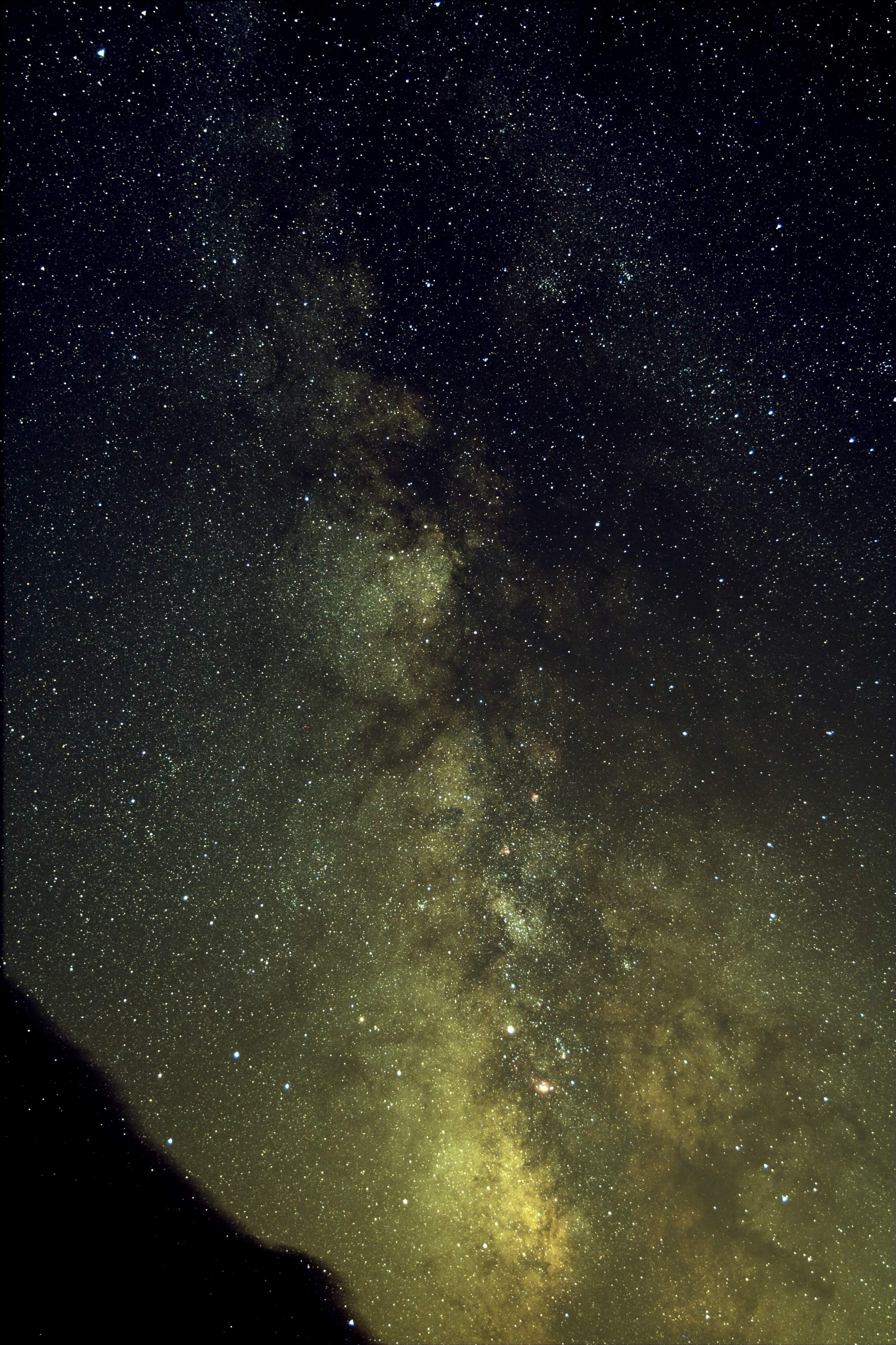 Voie lactée au dessus du Sagittaire